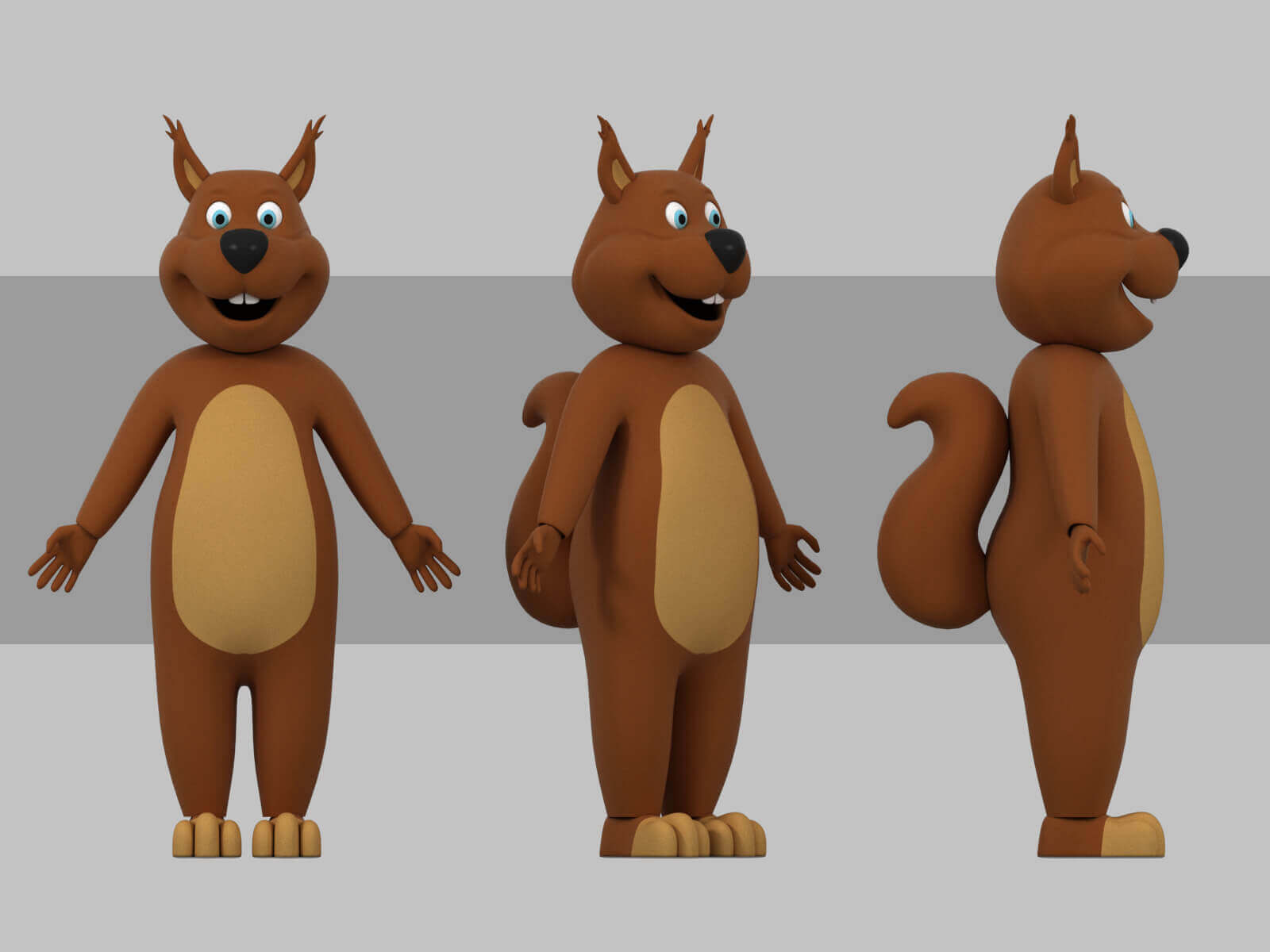 Tofifee Squirrel 3d