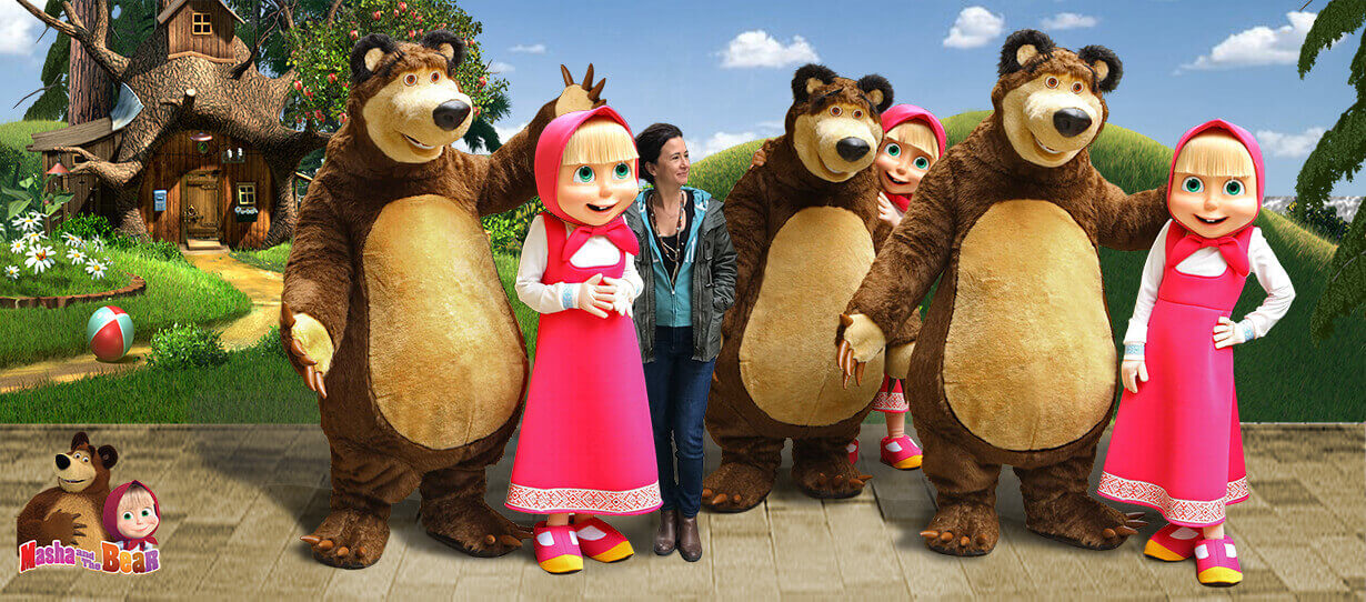 masha and the bear wepen son 1